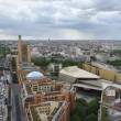 Aerial view of Berlin at summer time — Stock Photo