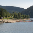 Schluchsee at summer time — Stock Photo