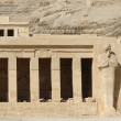 Stock Photo: Mortuary Temple of Hatshepsut detail