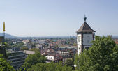Freiburg im Breisgau in sunny ambiance — Stock Photo