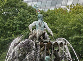 Fountain in Berlin — Stock Photo
