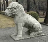 Statue at the Spirit Way in China — Stock Photo