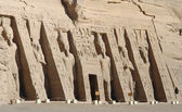 Abu Simbel temples in Egypt — Stock Photo