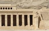 Mortuary Temple of Hatshepsut detail — Stock Photo