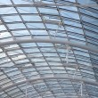 Glass roof detail — Stock Photo