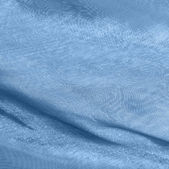 Blue fabrics with moire — Stock Photo