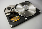 Hard disk saw blade — Stock Photo