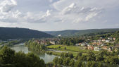 Aerial view around Wertheim — Stock Photo