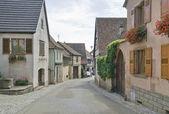 Mittelbergheim straat landschap — Stockfoto