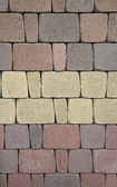 Pastel colored abstract stone pattern — Stock Photo