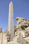 各地分局 amun re 的方尖碑 — 图库照片