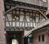 Haut-Koenigsbourg Castle detail — Stock Photo