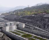 Three Gorges Dam at Yangtze River — Stock Photo