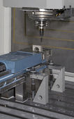 Metal milling machine — Stock Photo