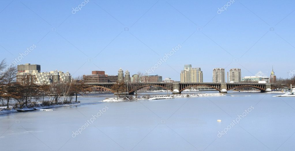 Boston scenery at winter time | Stock Photo © PRILL Mediendesign ...