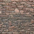Reddish stone wall — Stock Photo #7506164