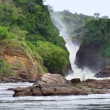 Murchison Falls in Uganda — Stock Photo #7506312