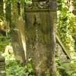 Old graveyard detail in Berlin - Stock Photo