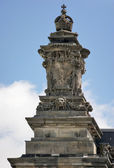 Rich ornamented detail of the Reichstag in Berlin — Stock Photo