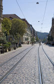 Freiburg im Breisgau at summer time — Stock Photo
