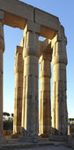 Columns at Luxor Temple in Egypt — Fotografia Stock