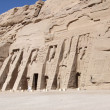 Great Temple of Abu Simbel - Stock Photo
