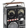 Royalty-Free Stock Photo: Funny radio nostalgic styled