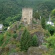 Castle ruin near Esch-sur-Sure — Stock Photo