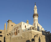 Mosque at Luxor Temple in Egypt — Stock Photo