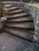 Stairway in the Hochburg Emmendingen — Stock Photo