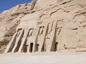 Great Temple of Abu Simbel — Stock Photo