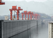 Three Gorges Dam in China — Stock Photo