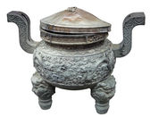 Bowl at the Jade Buddha Temple — Stock Photo