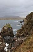 Rocky coast in Scotland — Stock Photo