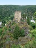Castle ruin near Esch-sur-Sure — Stock Photo