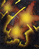 Abstract eruption — Stock Photo