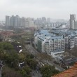 Wuhan city view — Stock Photo