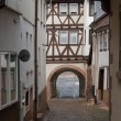 Architectural detail in Miltenberg - Stock Photo
