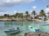 Dominican Republic coastal scenery — Stock Photo