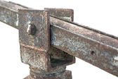 Corroded hinge detail — Stock Photo