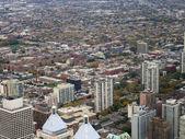 Chicago aerial view — Zdjęcie stockowe
