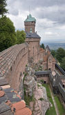Haut-Koenigsbourg Castle in France — Stock Photo