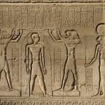 Erleichterung bei Chnum-Tempel in Ägypten — Stockfoto