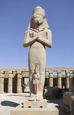 Ramses II at Precinct of Amun-Re — Stock Photo