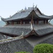 Roof at Fengdu County — Stock Photo