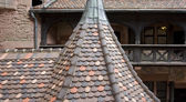 Roof at the Haut-Koenigsbourg Castle — Stock Photo