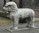 Statue at the Spirit Way near Beijing — Stock Photo