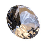 Diamond isolated on white — Stock Photo