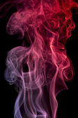 Colorful smoke detail — Stock Photo