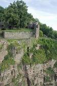 Aerial view around Wertheim Castle — Stock Photo